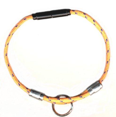 National Leash MANGO ORANGE - ADJUSTABLE BREAKAWAY CAT SAFETY COLLAR - BIKINI MODEL (Best Friend Tag Bikini)
