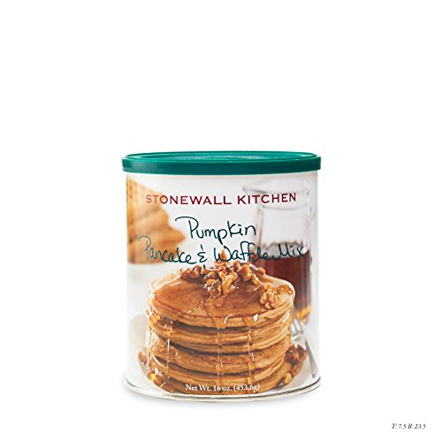 Stonewall Kitchen Pumpkin Pancake & Waffle Mix , 16 Ounces - Stonewall Kitchen Pumpkin