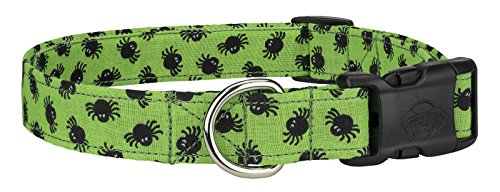 Country Brook Design Deluxe Lil Spiders Designer Dog Collar - Extra Large