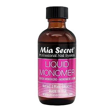 Mia Secret, Líquido y polvos acrílicos para manicura y ...