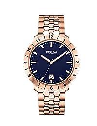 Bulova Men's Accutron II 97B130 Gold Stainless-Steel Quartz Watch
