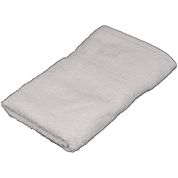 "Cotton Hand Towel, Spa Towel, %100 Ringspun Cotton for Maximum softness and Absorbency, (16"" x 28"") (White)"