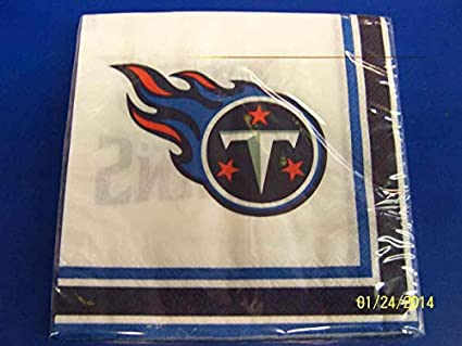 Tennessee Titans Paper Napkins NFL Pro Football Sports Banquet Cocktail  Game Day Themed College University Party bb05f881e