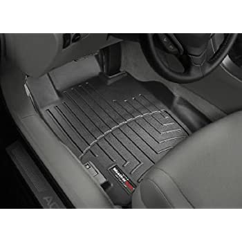 2004-2008 Acura TL Black WeatherTech Floor Liner (Full Set)