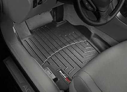 Image Unavailable. Image not available for. Color: 2004-2008 Acura TL Black WeatherTech Floor Liner ...