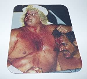 Dusty Rhodes COMPUTER MOUSEPAD Wrestling by icecream design