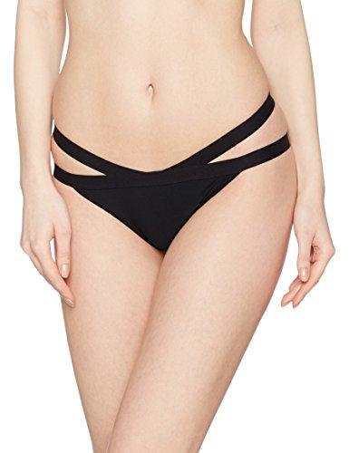 New Look Bandage Hipster, Braguita de Bikini para Mujer negro