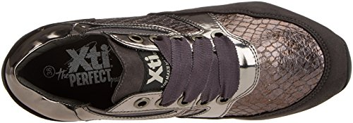 XTI Mujer Gris para Gris 047259 Zapatillas 1w1q7z