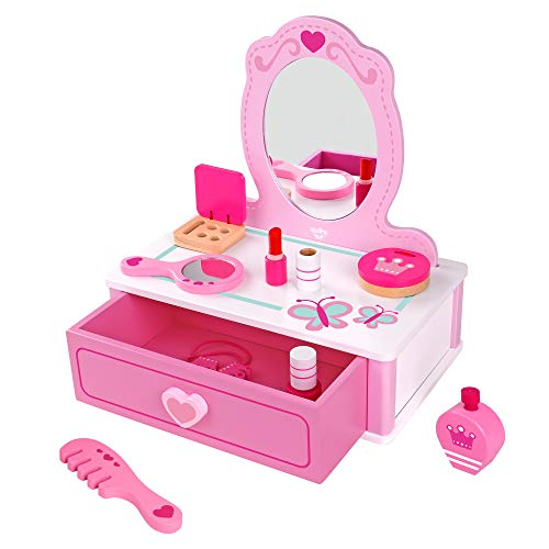 Fat Brain Toys Pretend & Play Makeup Station Imaginative Play for Ages 3 to 4