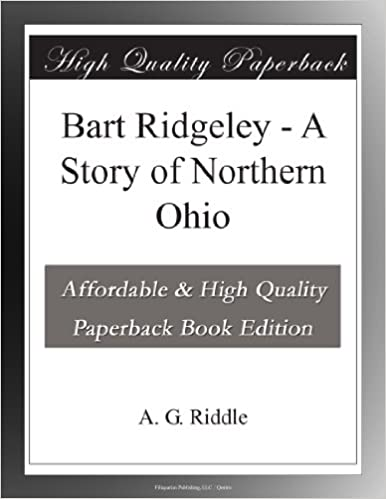 Book Bart Ridgeley - A Story of Northern Ohio