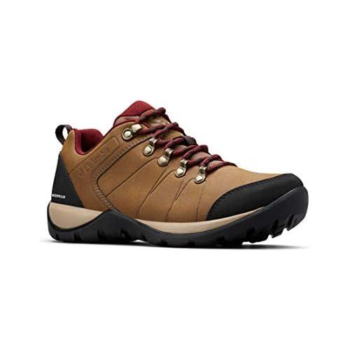 Columbia Fire Venture L II WP Zapatos de Senderismo para Mujer Marrón Dark Truffle Red 206 42 EU