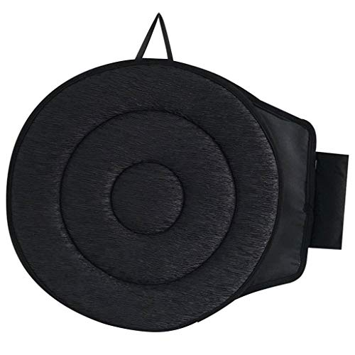 ( Orcbee  _Car Seat Revolving Rotating Memory Foam Cushion Swivel Mobility Aid Chair Pad (C))