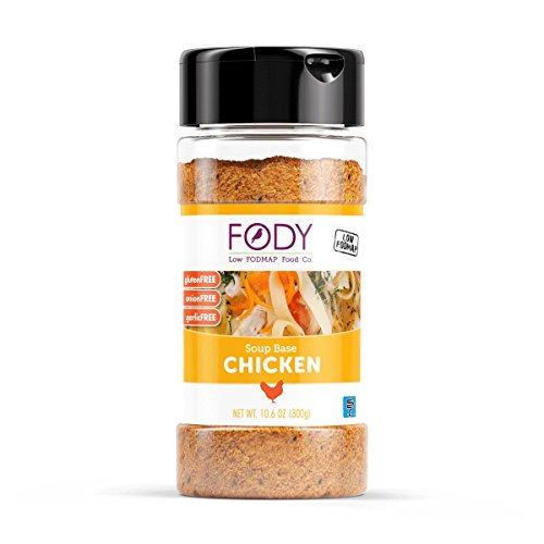 FODY--Low FODMAP Chicken Soup Base--Gluten Free IBS Friendly Low FODMAP Certified, Onion and Garlic Free--1-10.6oz - Walnut Shopping Creek