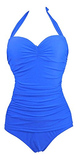 Wantdo Womens Ruched Push up Swimsuit product image