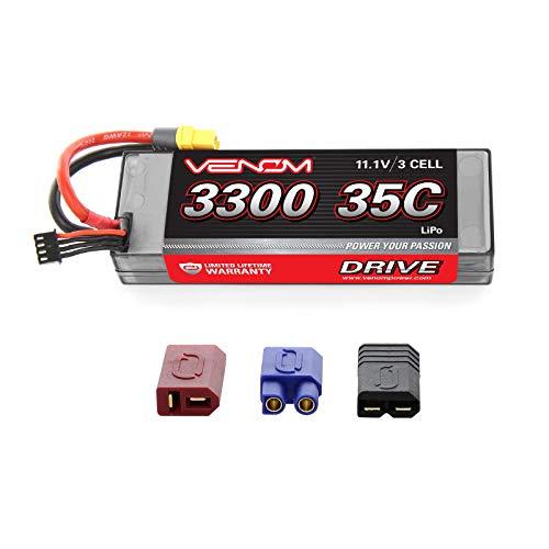 Venom 35C 3S 11.1V 3300mAh Hard Case LiPo Battery with Universal Plug ()