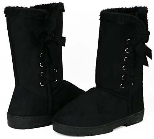 Chatz Av Chatties Womens Fylt Micro Boot Sort