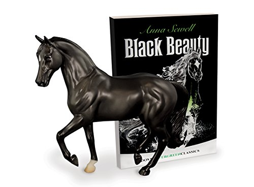 Breyer Classics Black Beauty Horse and Book Set (1:12 Scale)