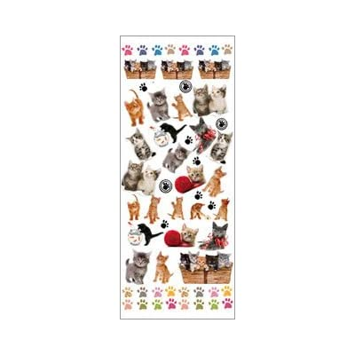 Fun Stickers Cats & Kittens 421: Kitchen & Dining