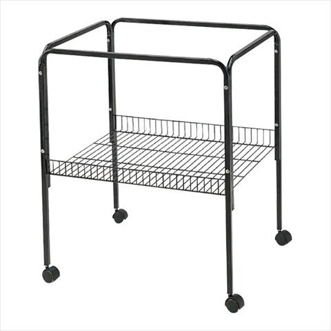 A&E Cage AE18-ST Black Universal Stand For Cages - 2 Pack by A & E Cage Company LLC