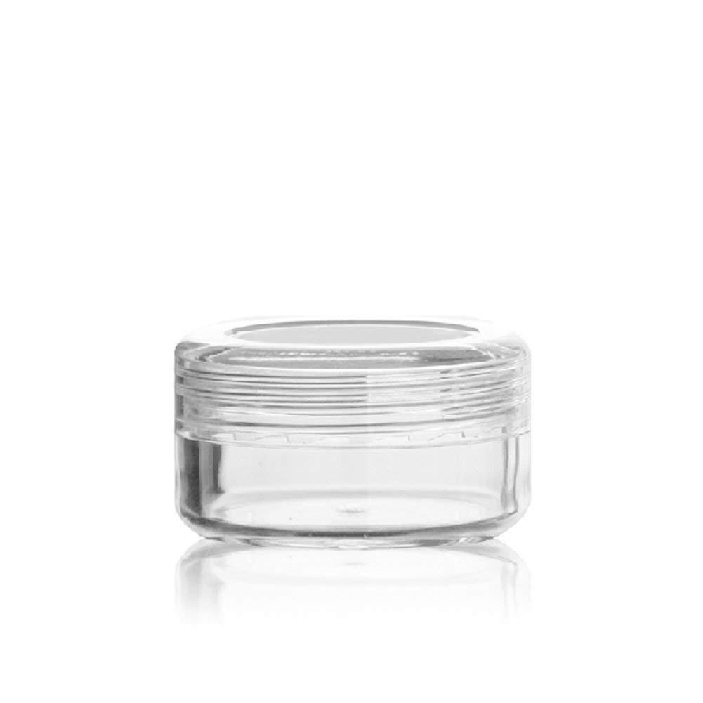 Rocita 15pcs 3 ml cosm/éticos Pots Tarro vac/ío para sombreador de Ojos MakeupCream Lip Balm Container