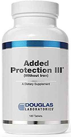 Douglas Laboratories® - Added Protection III (Iron-Free, with Copper) - Vitamins and Minerals with Amino Acids, Zinc, and Vitamin C - 180 - Douglas Labs Added Protection