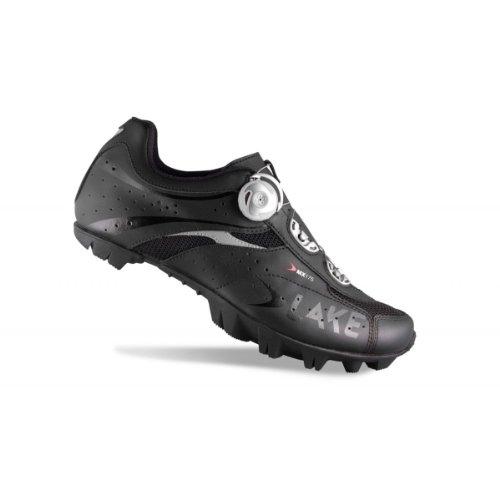 Lake Cycling 2014 Mens MX175 Mountain Bike Shoes (White/Espa�a - 44) W5uIh