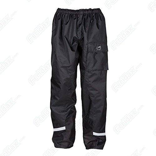 Spada Aqua Waterproof Breathable Motorcycle Over Trousers Pants - Black XXL