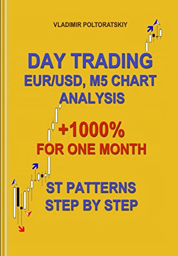 Day Trading EUR/USD, M5 Chart Analysis +1000% for One Month ST Patterns Step by Step by Independently published