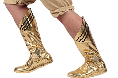 [Flash Comic Cosplay Boots Shoes Halloween Classic Costume Accessories Male US9.5] (Flash Gordon Halloween Costume)