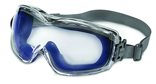 Uvex Stealth Reading Magnifier Goggles with Uvextreme Anti-Fog Lens (S3991X) by Honeywell