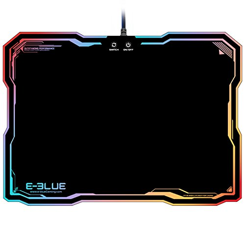 415xL5lXVeL - E-3LUE EMP013 Gaming Mouse Pad Gamer Rubber Pad Mousepad Game Keyboardpad RGB Light Lighting