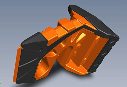 Wedge-It The Ultimate Door Stop - Orange 12 Pack by Wedge-It