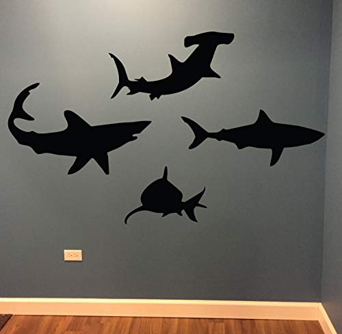 Shark Wall Decals - Kids Room Decorating -