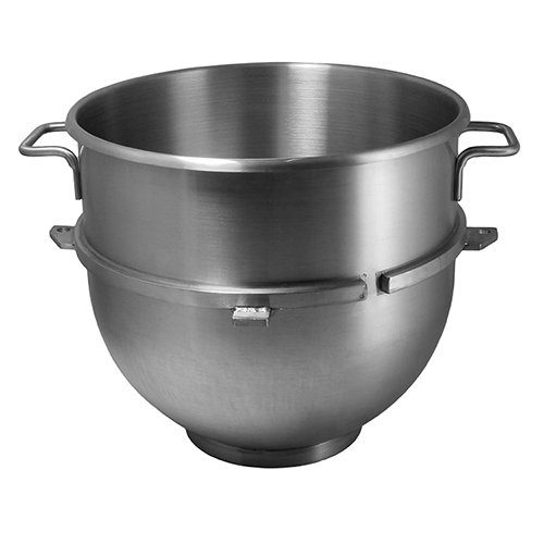 Vollum 60-Quart Commercial Stainless Steel Mixing Bowl for Hobart Mixer - Hobart Equivalent