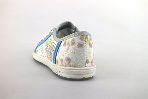 Laura Biagiotti Sneakers Mädchen Multicolor Segeltuch Strass AH986 (31 EU)