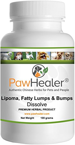 Dissolve Herbal Formula -100 Grams Powder - Remedy for Fatty Tumors in Dogs & Pets - Save Up to $20 - Buy More Save More