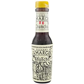 Amargo Chuncho Bitters 75ml 65 Made in Peru. Combination of over 30 various peels, herbs, roots, barks, and flowers from the Peruvian forest. These are the only bitters acceptable for a truly authentic Pisco Sour.