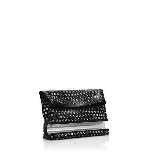 Tamara Mellon Dazzle Clutch Handbag, Black