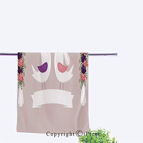 Jewish Wedding Invitations - Our Towels(Size:11.8
