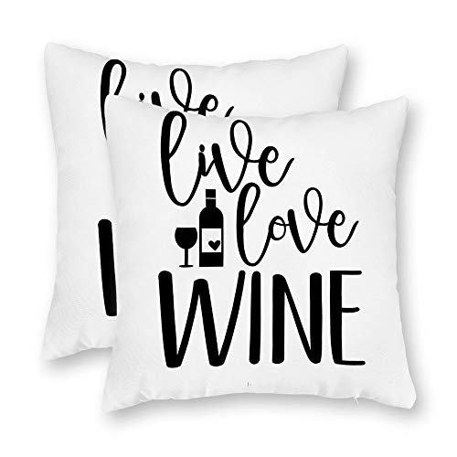 DKISEE Set of 2 Live Love Wine 01