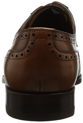 Ferrini Mens 3704 Wingtip Oxford Caramel