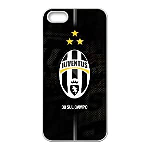 Juventus iPhone 5 5s Cell Phone Case White xlb-086651