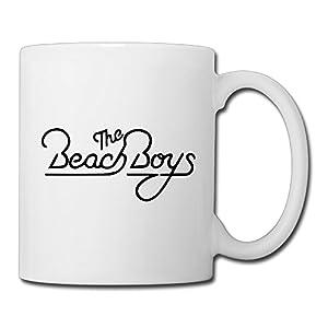 Christina The Beach Boys Rock Band Logo Ceramic Coffee Mug Tea Cup White