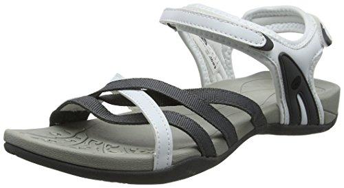 Blanco II Savanna Senderismo Sandalias Hi para de Mujer White Tec Grey qBHOBP8