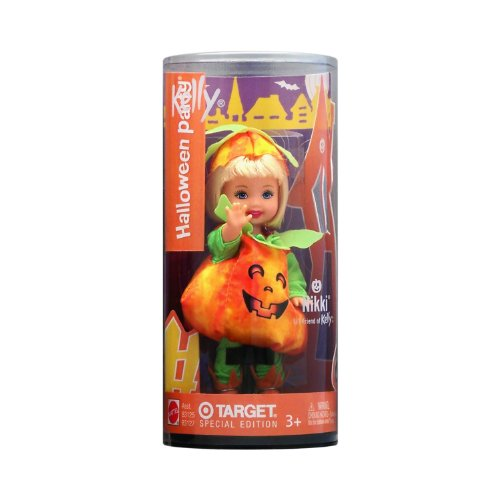 Barbie Kelly Club - Nikki as a Pumpkin - Halloween Party - Target Special Edition Doll (2003) -