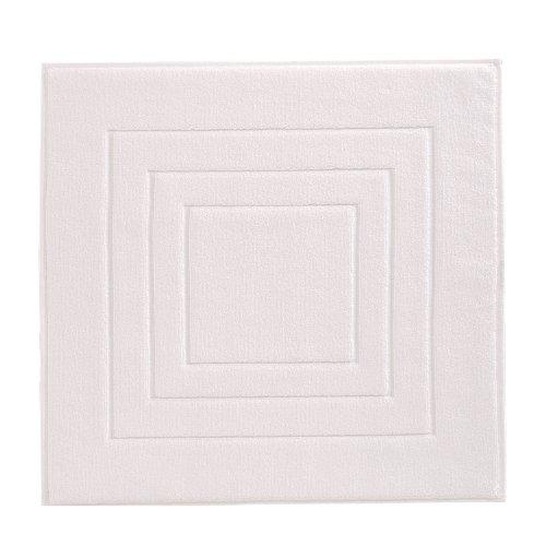 Vossen 1100540030 Feeling - Badeteppich, 60 x 60 cm, weiß