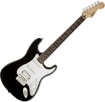 Fender Squier Bullet Strat trémolo HSS RW Black – Guitarra ...