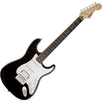 Fender Squier Bullet Strat trémolo HSS RW Black - Guitarra eléctrica: Amazon.es: Instrumentos musicales