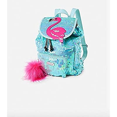 Justice Flamingo Flip Sequin Mini Rucksack | Kids' Backpacks