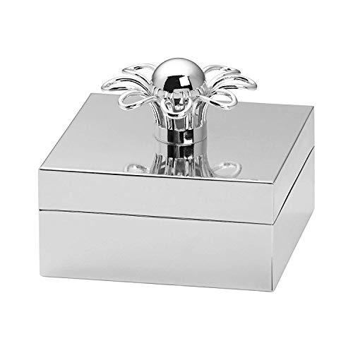 - Kate Spade New York Keaton Street Silver Metal Jewelry Keepsake Box